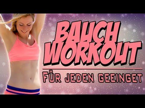 Super effektives Anfänger Bauch Workout für einen sexy Sixpack | VERONICA-GERRITZEN.DE - YouTube