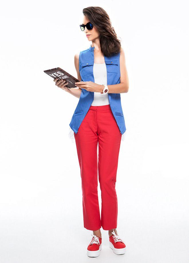 gnçtrkcll ile Yaz Modası Pantolon Markafoni'de 74,90 TL yerine 32,99 TL! Satın almak için: http://www.markafoni.com/product/4466751/