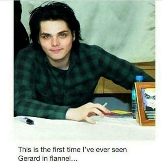Mark this in the history books <<< I THOUGHT THIS WAS GERARDS FACE ON PHIL LESTERS BODY IDK WHY BUT I DID OKAY BYE