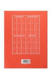 Les tables de multiplications des cahiers de brouillon, il serait bon de s'y remettre un peu !!