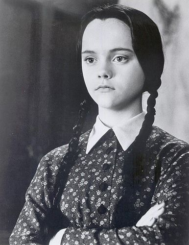This is your bitchy resting face. | 17 Signs That You Are Wednesday Addams.  Good heavens...I AM Wednesday Addams!!