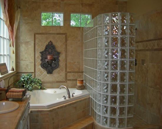 Glass Block Shower Wall Design, Pictures, Remodel, Decor And Ideas   Page 4