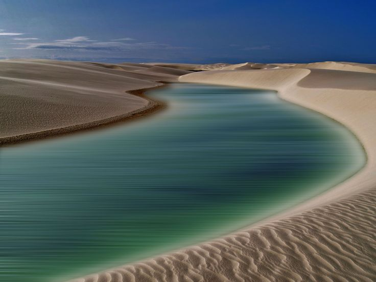 Brazilian sea dunes make a white oasis in this National Geographic Your Shot Photo of the Day. Photograph by Donatella Bucci