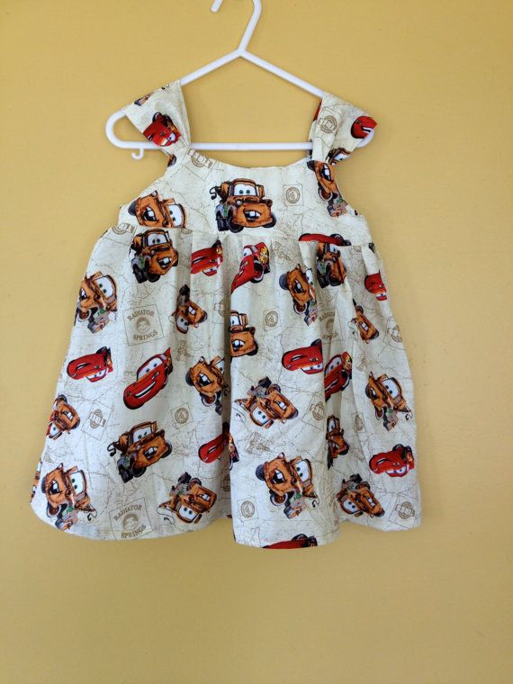 Mater and McQueen Sun Dress by myfunclothes on Etsy