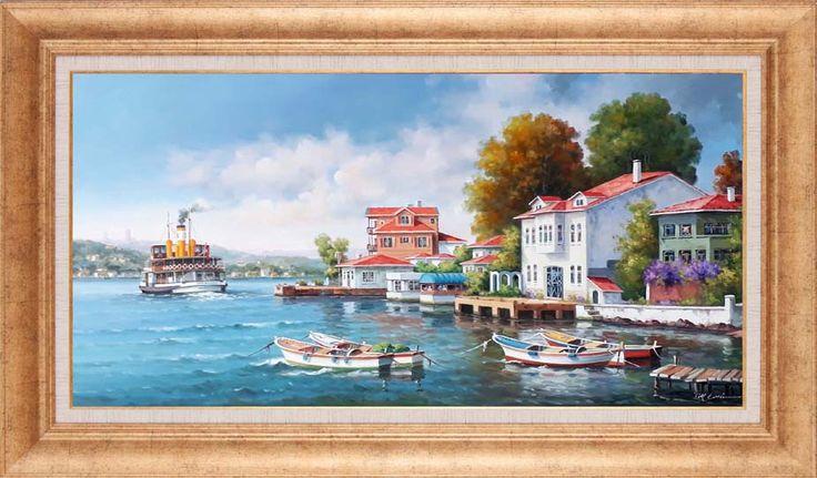 Murat Ersin RESSAMLARIMIZ - Murat Ersin Simurg Sanatevi - Türkiye'nin Birinci Sınıf El Yapımı Yağlıboya Tablo Mağazası