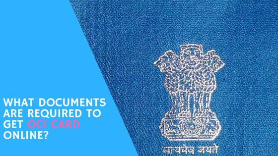 To get OCI card online, the applicant must register online on the website: https://passport.gov.in/oci/ . Thereafter, three copies of application form and birth certificate, marriage certificate, parent's or grandparent's birth certificate, previous or current passport copies are mandatory along with INR 15,000 fee.