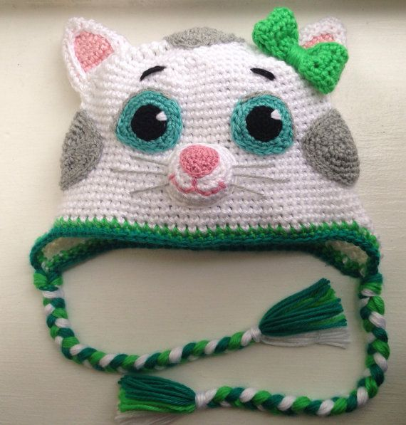 Katerina Kittycat from Daniel tiger's by Ambercraftstore on Etsy