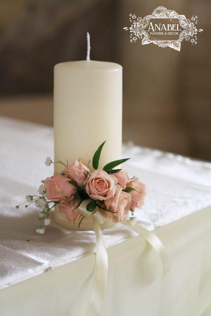 Свадебные аксессуары с живыми цветами