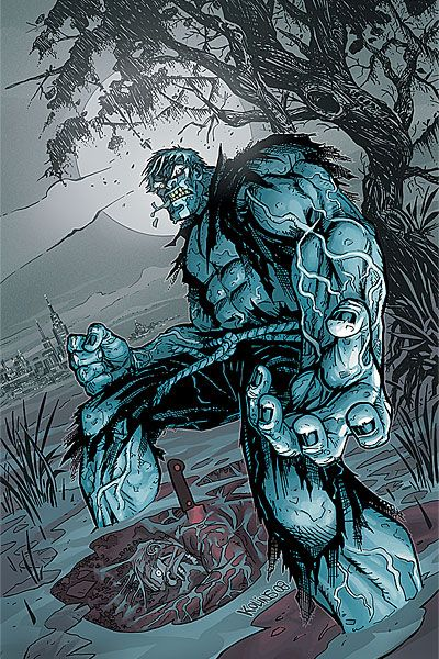 Solomon Grundy is a fictional character, usually depicted as supervillain in the DC Comics universe and an antihero in the DC animated universe. He was originally depicted as a murder victim brought back to life as a corporeal revenant or zombie, though subsequent versions of the character have occasionally depicted a different origin. Named after the 19th century nursery rhyme, Grundy was introduced as an enemy of the Golden Age Green Lantern (Alan Scott), but has since become a prominent…