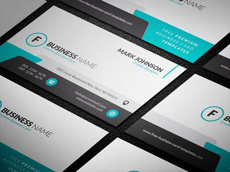 201 Best Images About Free Business Card Templates On Pinterest