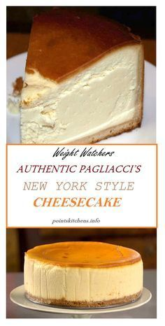 AUTHENTIC PAGLIACCI'S NEW YORK STYLE #CHEESECAKE…
