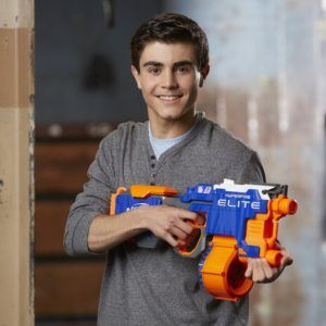 The Hyperfire Blaster is the fastest firing Nerf gun ever!! A great choice for Christmas this year.