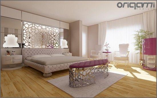 Origami Modern Masif Mobilya | INTERIOR | Yatak Odası Projesi Kristal