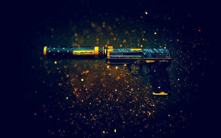 USP S Pistol Orion Counter Strike Global Offensive Weapon Skin 1920x1080