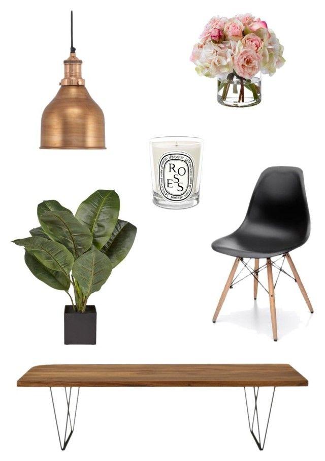 Dining by zoe-alexa-robinson on Polyvore featuring interior, interiors, interior design, home, home decor, interior decorating, Ligne Roset, Diane James and Diptyque