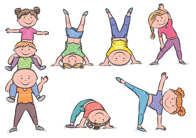 Cvičíme s deťmi 3 - 4 r.