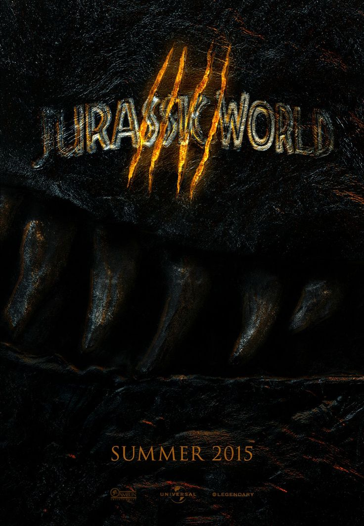 Posters: Jurassic World