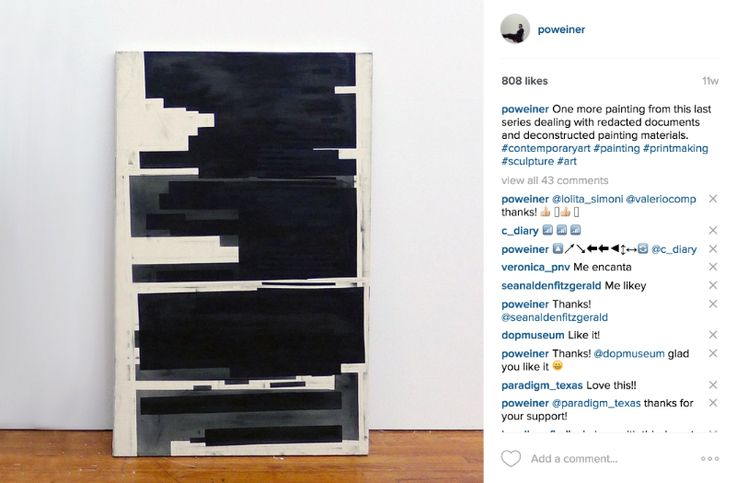 10 Tips for Using Instagram (takes over art market) to Build an Art Career;Auction record broken, thanks to Instagram