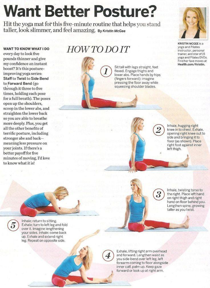 Better Posture Yoga | Yoga Workouts | Pinterest | Yoga ...