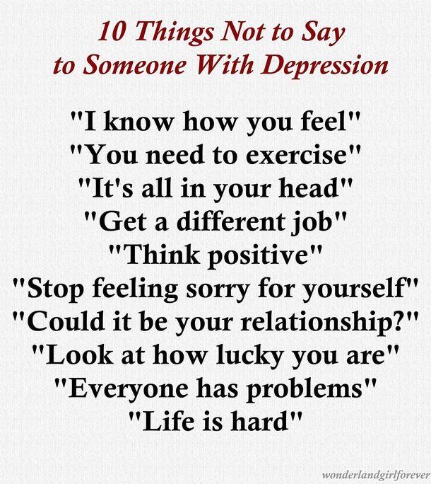 Sad Quotes About Depression: Depression Quotes Tumblr - Google Search