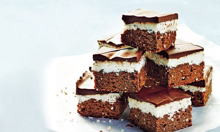 Sarah Wilson's I Quit Sugar for Life: Choc mint slice