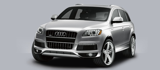 The Audi Q7. A larger, more aggressive version of the Q5, with more off road capabilities.