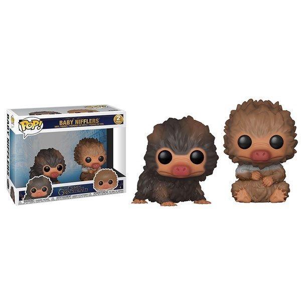 Fantastic Beasts 2 The Crimes Of Grindelwald Baby Niffler Black And Brown 2 Pack Pop Vinyl Figure Zin Vinyl Figures Fantastic Beasts Fantastic Beasts 2