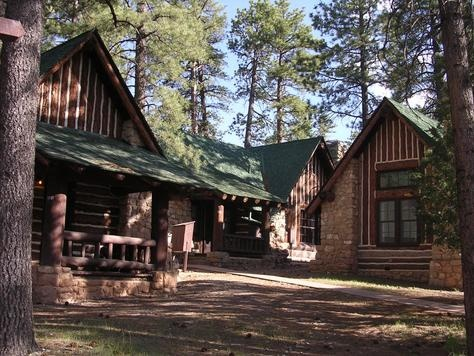 Bryce Canyon Lodge cabins