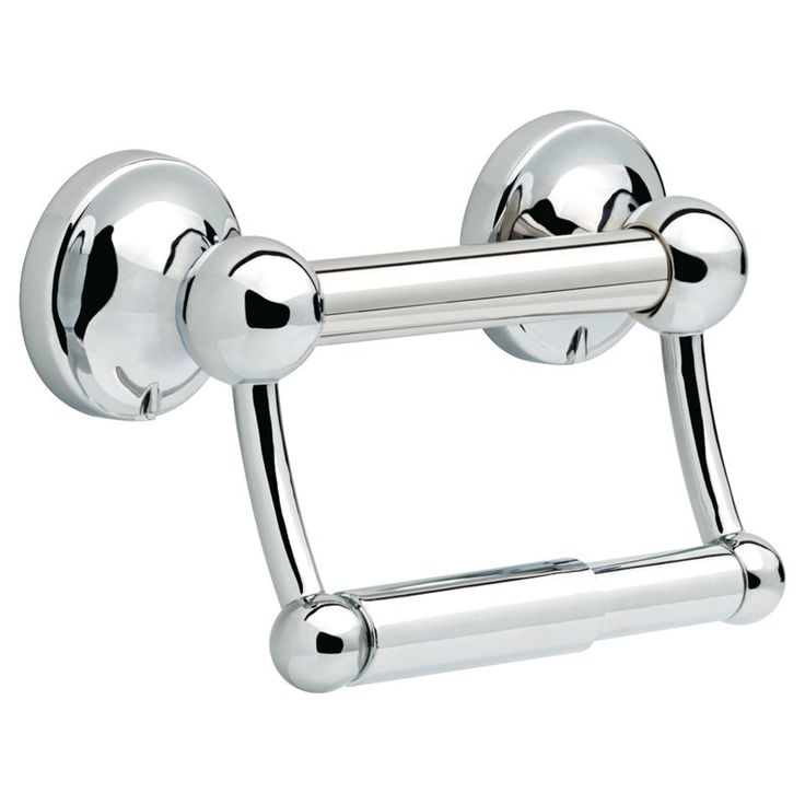 Delta Traditional Toilet Paper Holder with Assist Bar - DF704PC