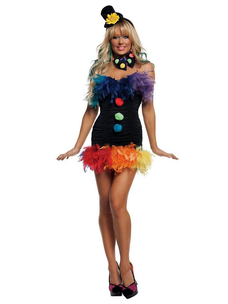 Sexy Clownin' Around Clown Costume | Sexy Clown Costumes