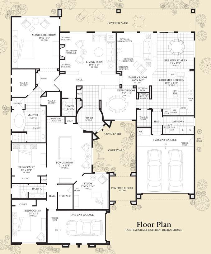 San mateo floor plan