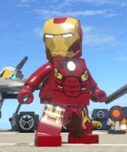 Anthony STARK (IRON MAN)   Earth 13122   Mark VII   Lego Marvel SUPER HEROES