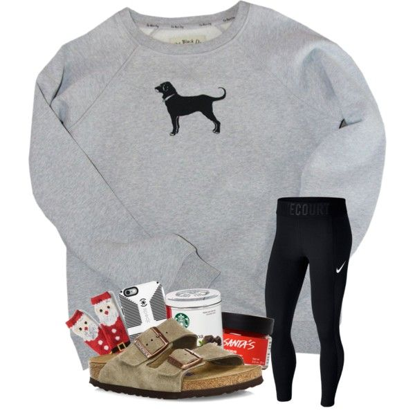 Christmas socks are the bomb by magsvolleyball2 on Polyvore featuring polyvore, fashion, style, NIKE, Birkenstock, Speck, Aéropostale, clothing and gabschristmascontest17