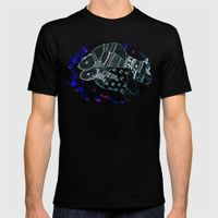 Pisces MEDIUM Mens Fitted Tee Black