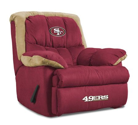 San Francisco 49ers Comfy Captain S Chair Nice Recliner