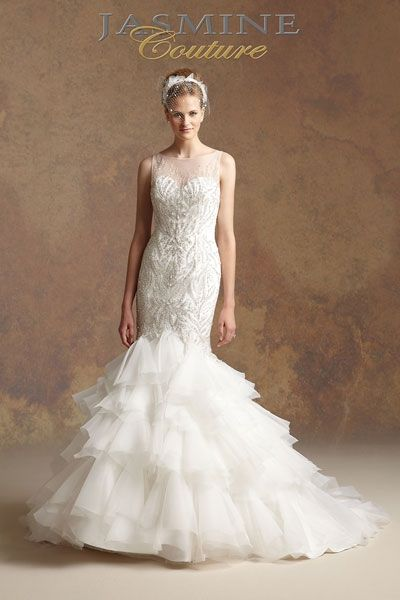 Gorgeous wedding gowns inspired by The Great Gatsby (by Jasmine Couture)