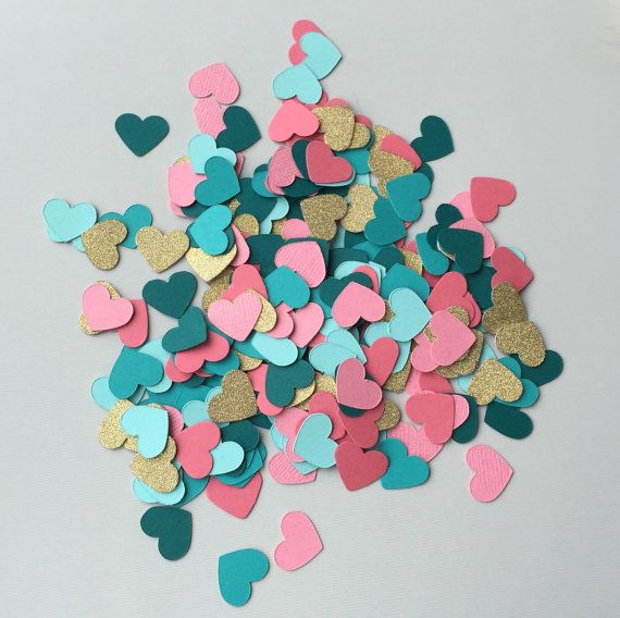 Custom Wedding Confetti This Bride Chose The Perfect Mix