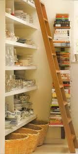 library ladder in pantry - Google Search
