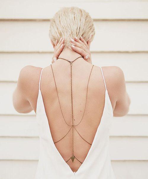 Body chain é o acessório must have do Verão 2016. Boho Jewelry :: Accessories :: Gypsy Style Flash Tattoos :: Tribal Ethnic Silver :: Earrings + Bracelet + Rings + Necklace :: Beach Boho :: ZAIMARA :: Feathers:: Bohéme :: Bohemio ::