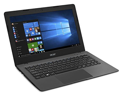 Acer Aspire One Cloudbook, 11-Inch HD, 32GB, Windows 10, Gray (AO1-131-C9PM) includes Office 365 Personal – 1 year Discontinued by Manufacturer //Price: $184.90 & FREE Shipping //     #hashtag3
