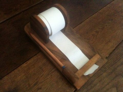 Vintage Wall Hanging Paper Tape Receipt Roll Jotter by EnglishShop, £29.00
