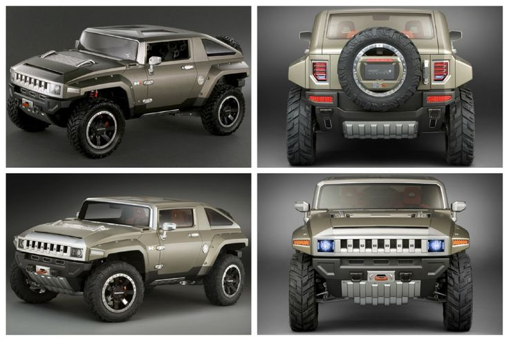 H4 Hummer HX Concept. I'm still waiting for your release. Hopefully 2018 will be the year!