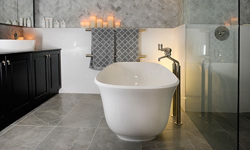 the powder room blog tile trends Perini Florence