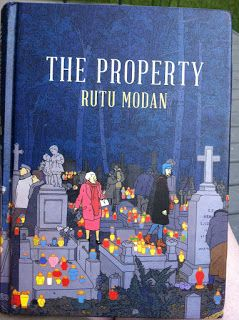 So Brainwise left a book/graphic novel(?) on my pile to read - The Property  by Rutu Modan. I honestly don't remember what he told me about ...