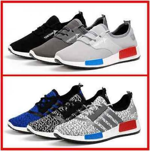 New Men 's Outdoor Sports Shoes Fashion Breathable Casual Sneakers Running  Loafers & Slip Ons