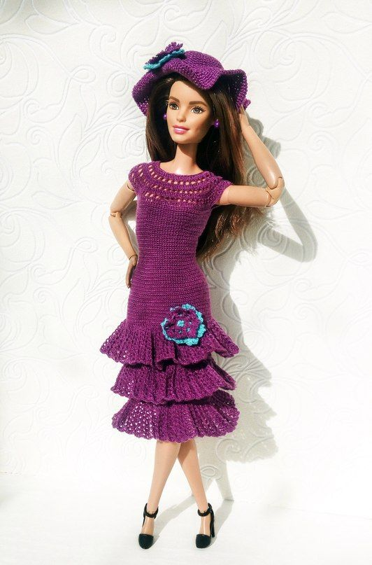 Шьём одежду для Барби