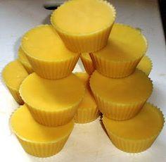 body butter bars, ingredients & tutorial - similar to lush bars