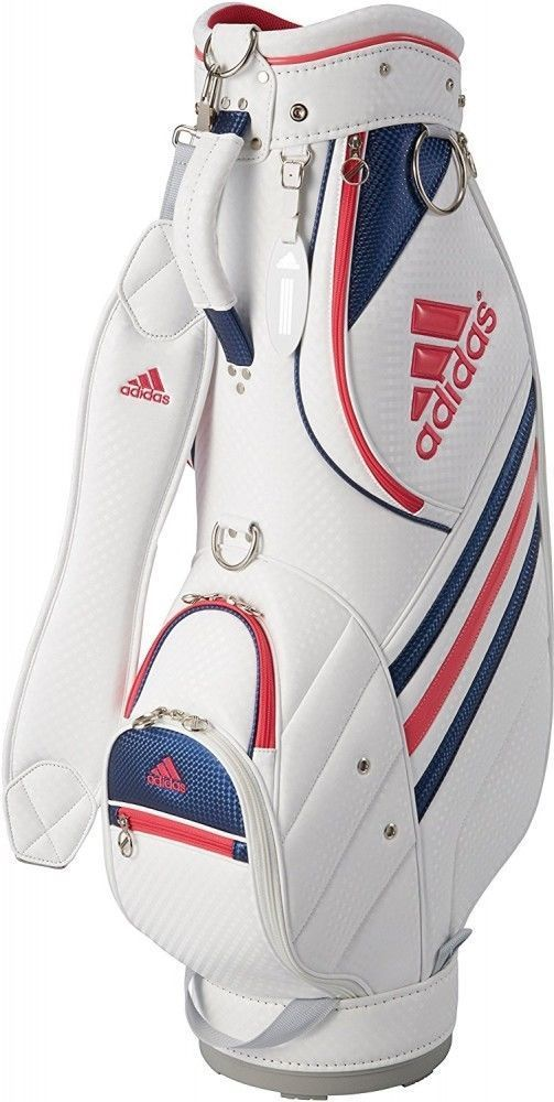 3ce0005526bc F S Adidas Caddie Bag Ladies AWS55 Women s Golf Cart Bag White   Pink from  Japan  adidas  Modern