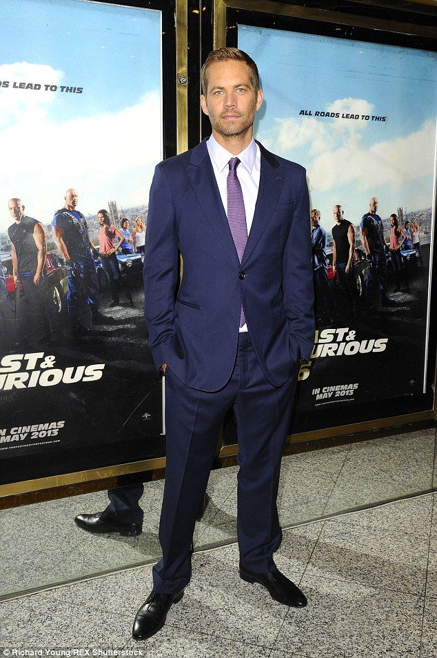 He will be missed: Paul Walker at the premiere of Fast And Furious 6; he is pictured the year of ...