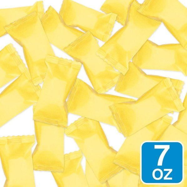 Check Out Yellow Wrapper Buttermints 7oz Bag